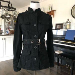 Converse Black Denim Jacket, Size XS